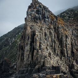 Bruny Island cliffs