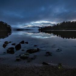 Cloudy Bay Lagoon pre sunrise