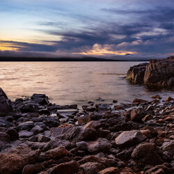 Rocky beach at sunset<br/>Photo Credit: Simon Chin<br/>Canon 6D f/11 26mm 1.3s ISO50