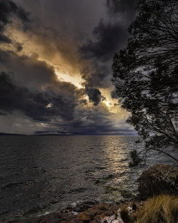 A moody sunset - guest contribution by Alistair Haughton