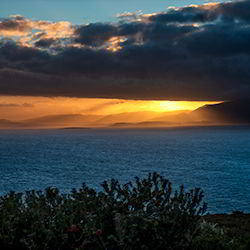 Bruny Island sunset - guest contribution by Shona Van Lieshout